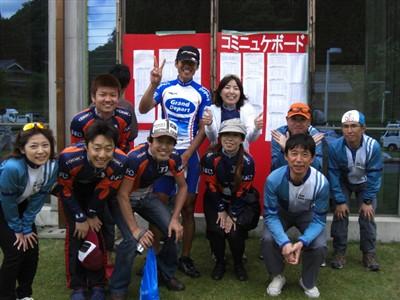 永良大誠選手と NASU FAN CLUB メンバー
