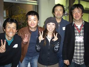 東日本からの遠征組の皆さん