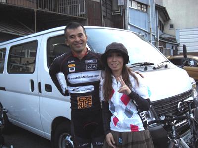 Team MASSA の 三船雅彦 監督