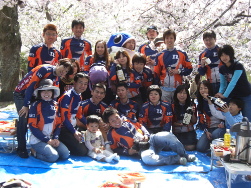 2009年NASU FAN CLUB花見